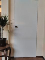 Двери с алюминиевым коробом